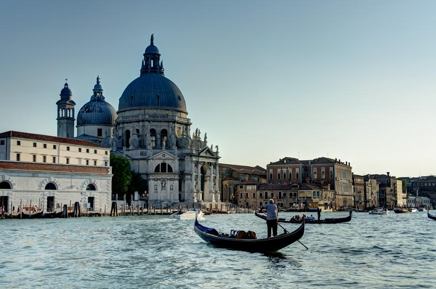 Grand Canal and Santa Maria della Salute, Venice