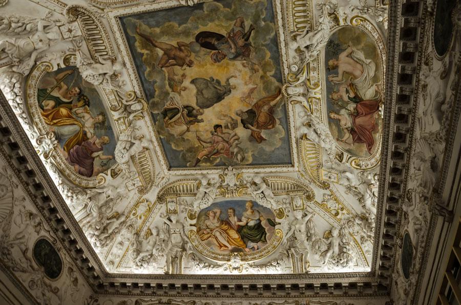 Inside Palazzo Barbaran, Vicenza, Italy