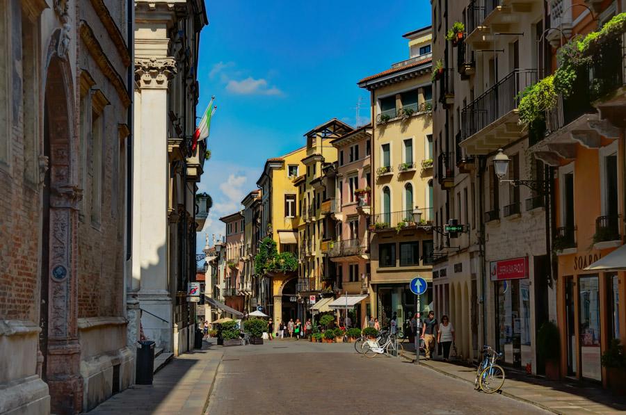 Corso Palladio, Vicenza, Italy