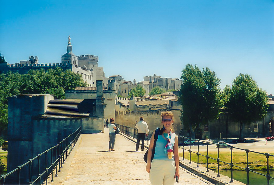 Pont St-Benezet, Avignon, France