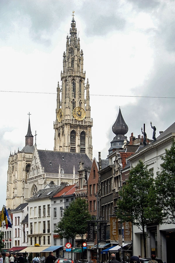 Tower of the Cathedral of Our Lady, Antwerp, Belgium