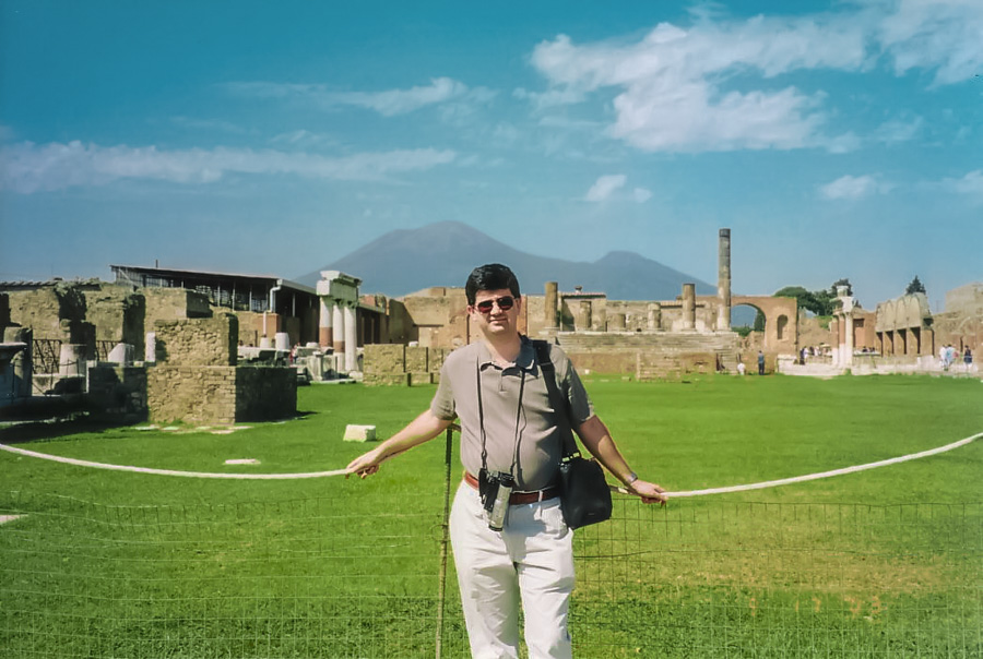 In Pompei, Italy