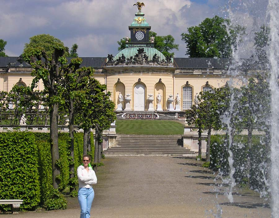 On Sanssouci grounds, Potsdam, Germany