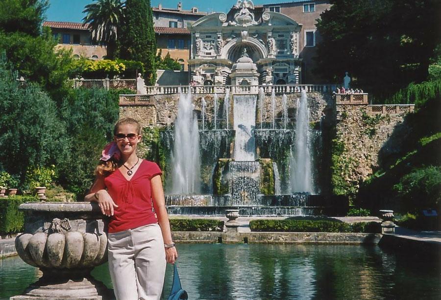 Villa dEste, Tivoli, Italy