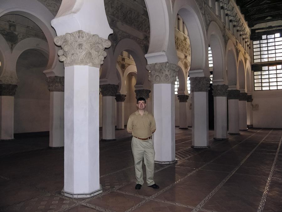 Santa María la Blanca Synagogue, Toledo, Spain