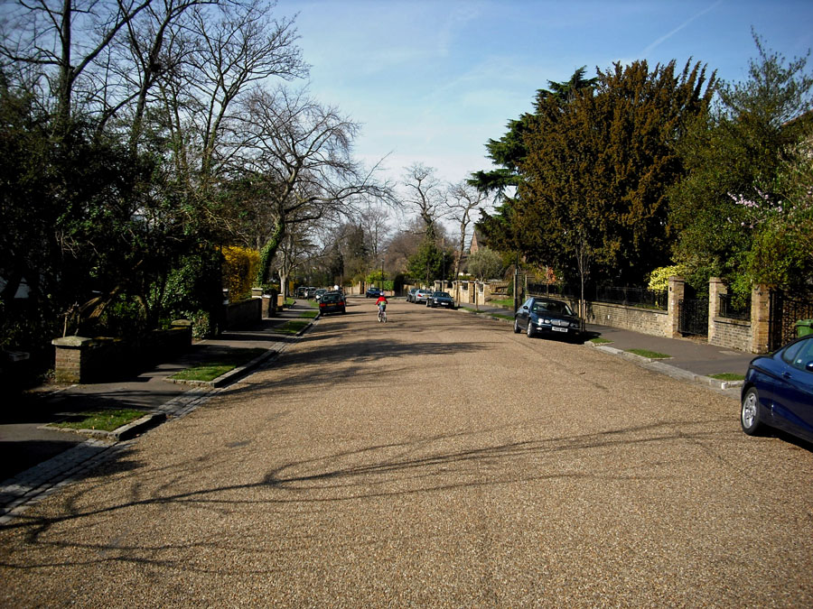 A street in Blackheath