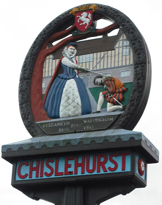 Chislehurst town arms