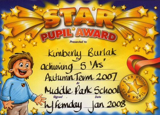 Kimmy's Award