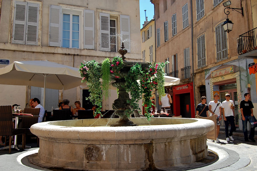 In Aix-en-Provence, France