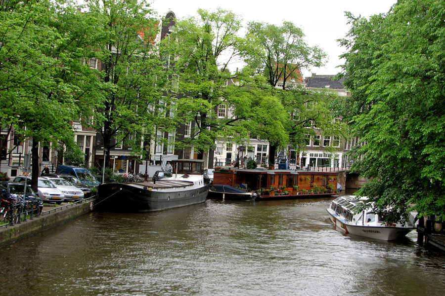 An Amsterdam canal