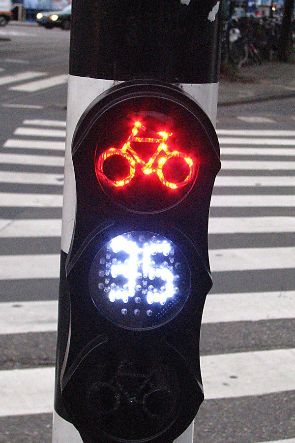 Traffic light, Amsterdam