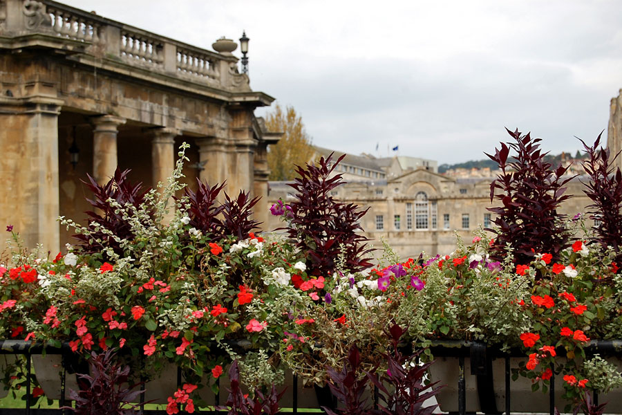 Parade Gardens, Bath, England