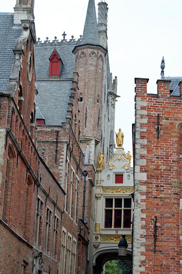 Blind Donkey alley, Brugge