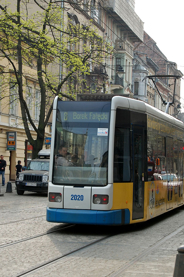 Cracow streetcar