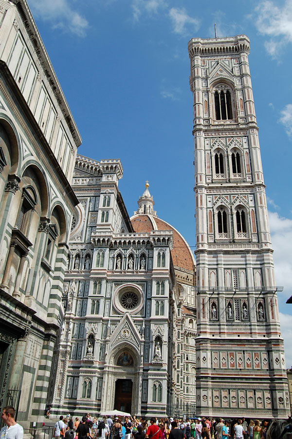 Baptistery, Cathedral and Giotto Belltower, Florence