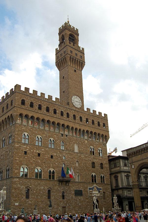 Palazzo Vecchio on Piazza della Signoria, Florence