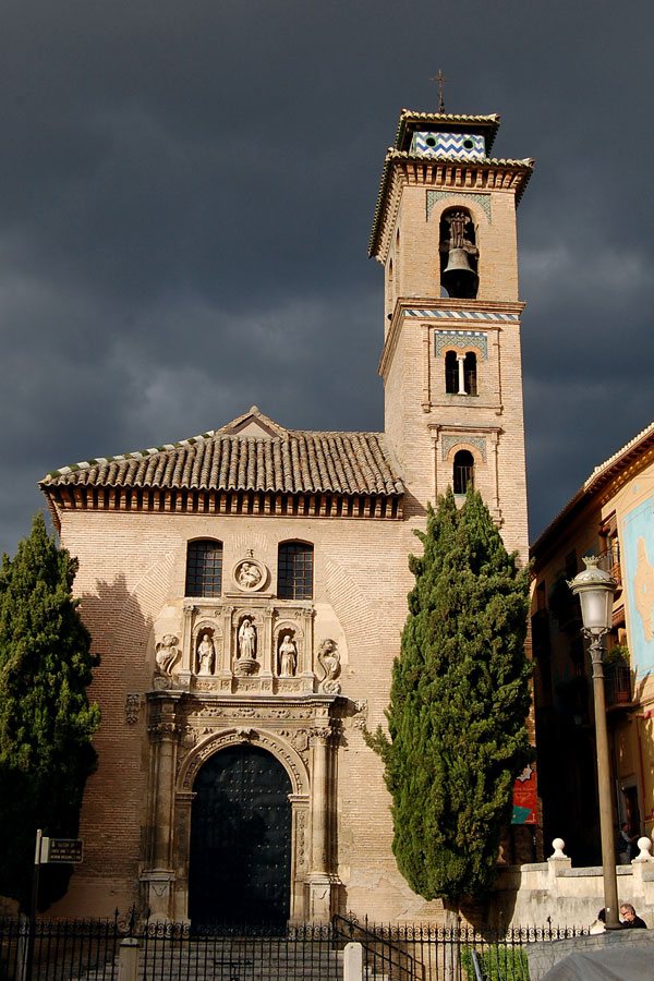 Church of Santa Ana, Granada