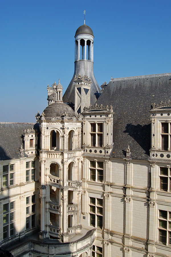 Chambord detail, Loire Valley