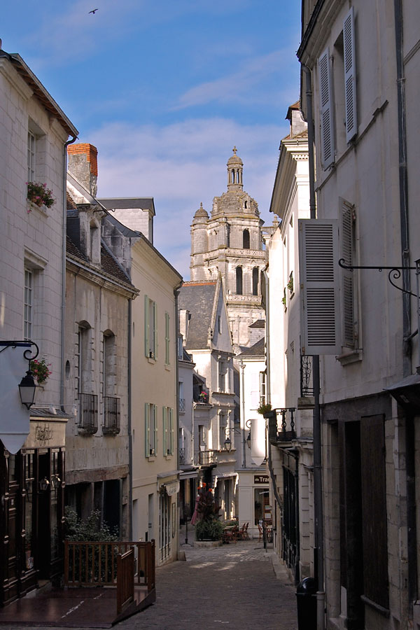 A street in Loches, Loire Valley