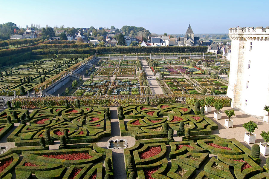 Gardens of Villandry, Loire Valley