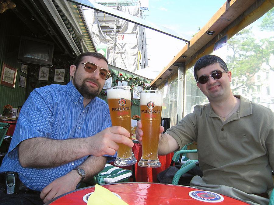 Beer at Viktualenmarkt