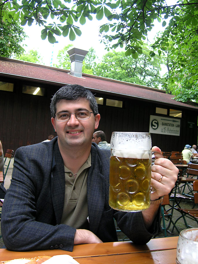 At Hirschgarten