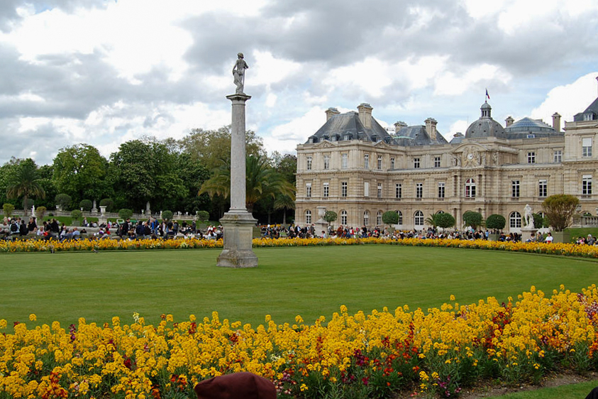Luxembourg Gardens and Palace, Paris