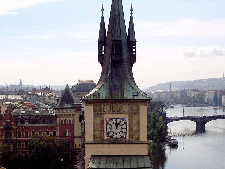 Spires of Prague - Clocktower