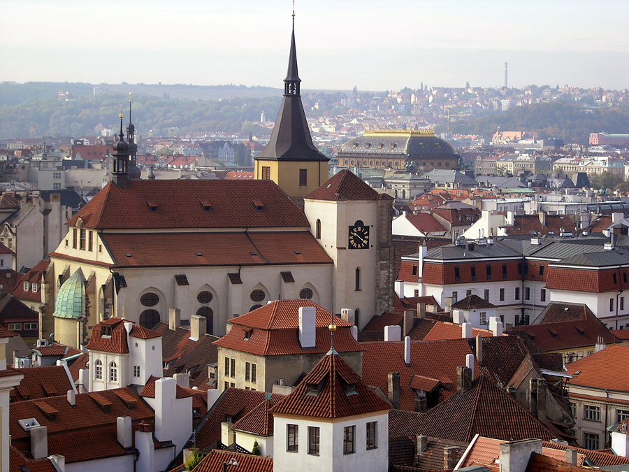 Spires of Prague - St Giles