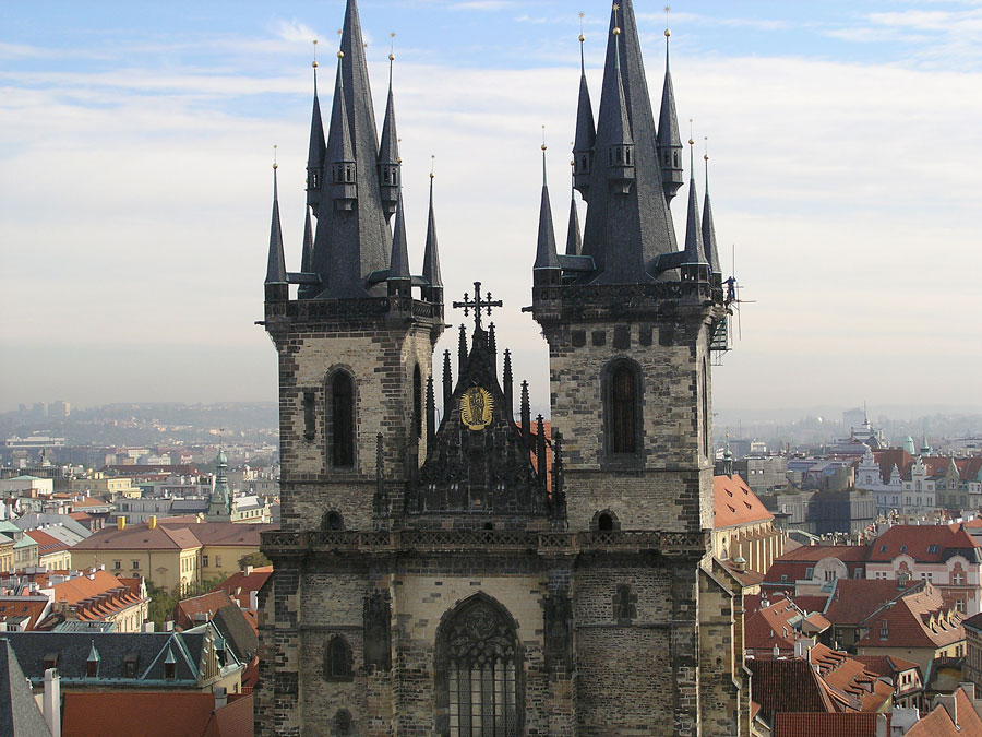 Spires of Prague - Virgin Mary Before Tyn