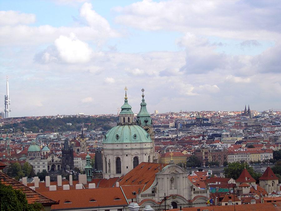 Spires of Prague - St Nicholas (Little Quarter)