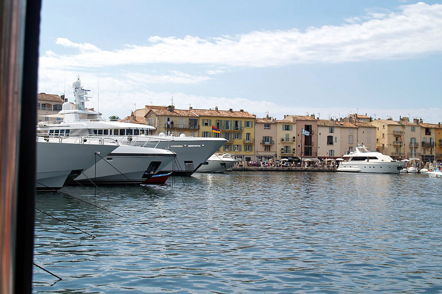 St-Tropez marina, French Riviera