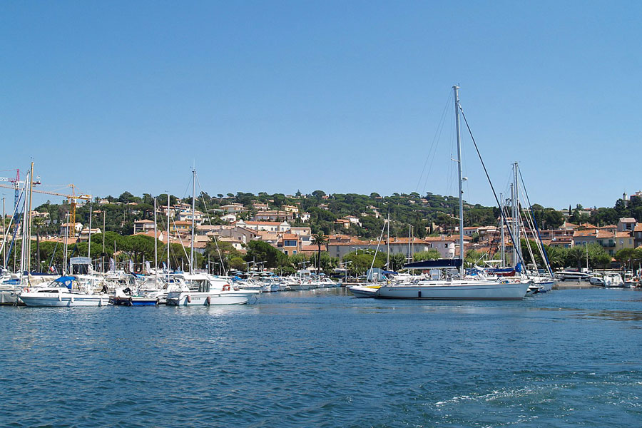 St-Maxime marina, French Riviera