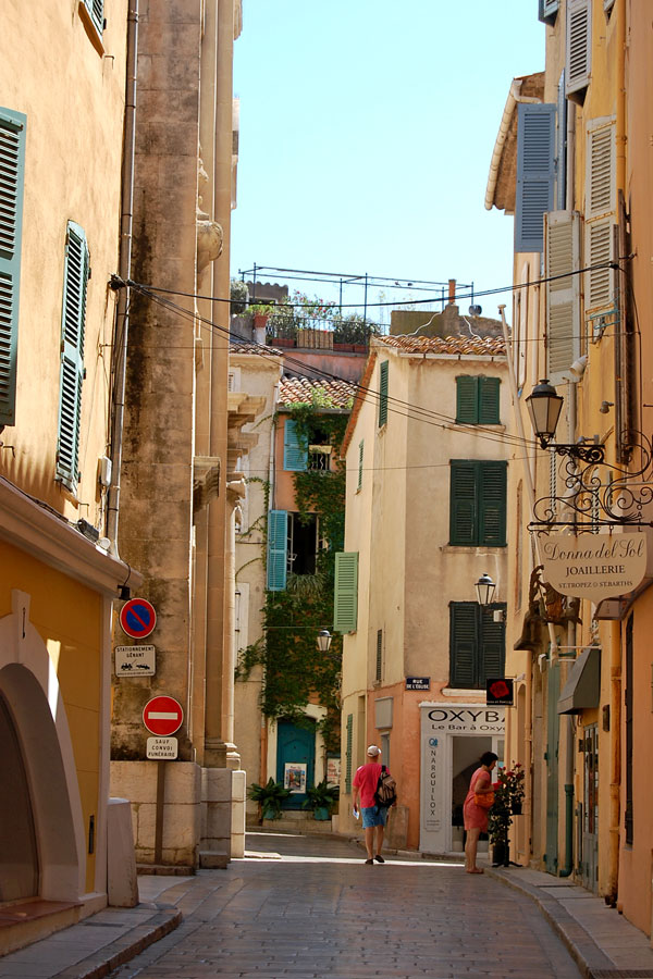In St-Tropez, French Riviera