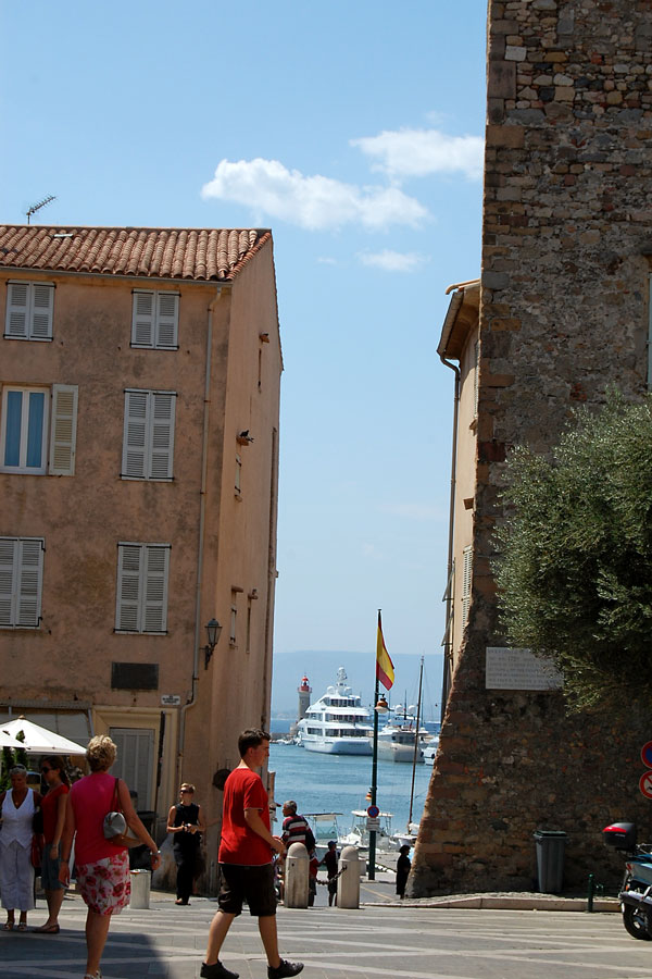 A St-Tropez perspective, French Riviera