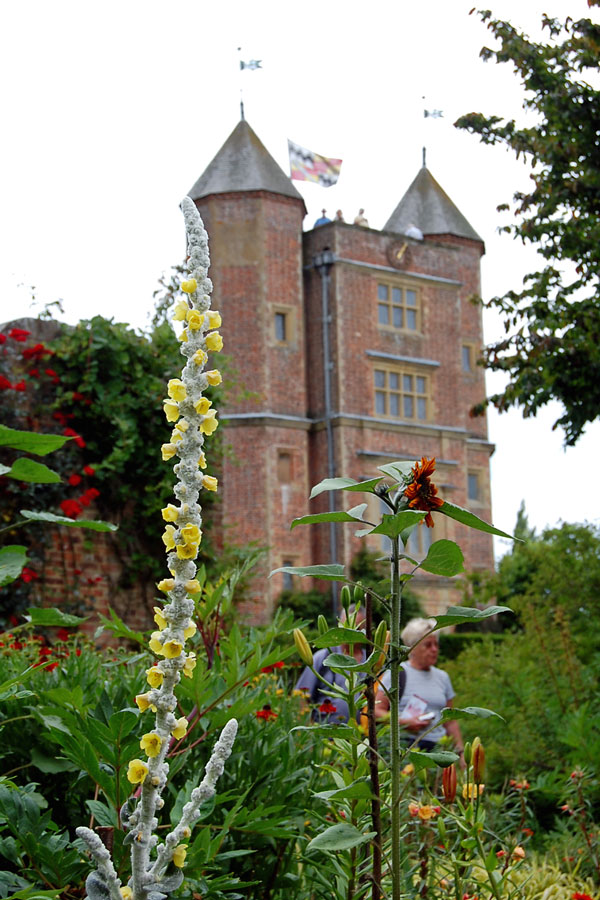 In Sissinghurst Castle Gardens, Kent, England