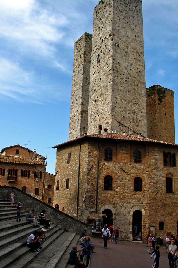 In San Gimignano, Italy