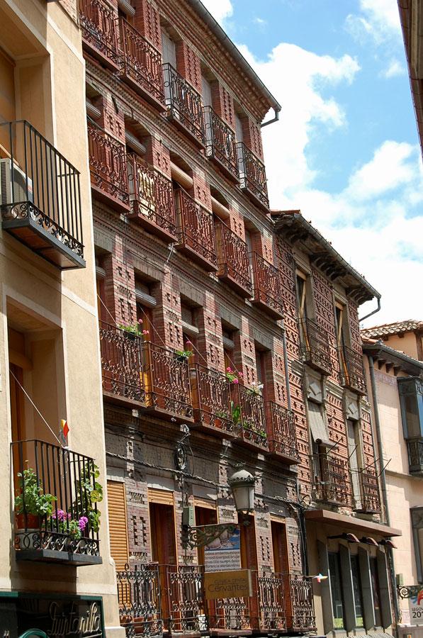 Streets of Segovia, Spain