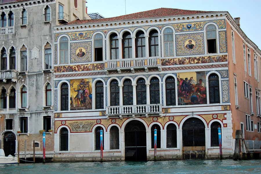 Palazzi on Grand Canal, Venice