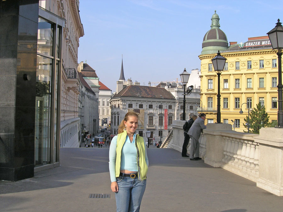 Near Albertina Palace, Vienna