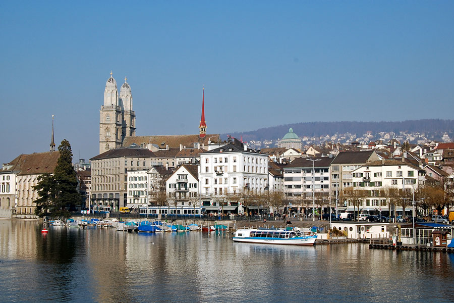 Limmat Riverside, Zurich