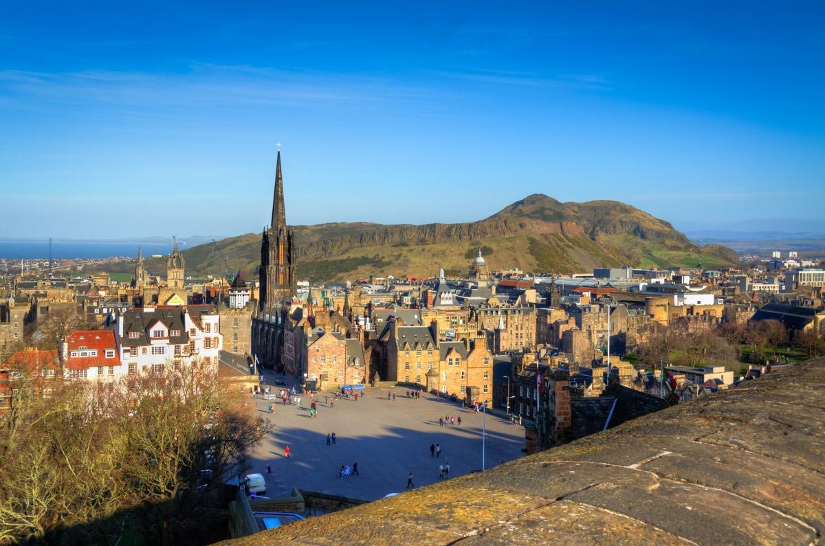 Esplanade on Castlehill, Edinburgh