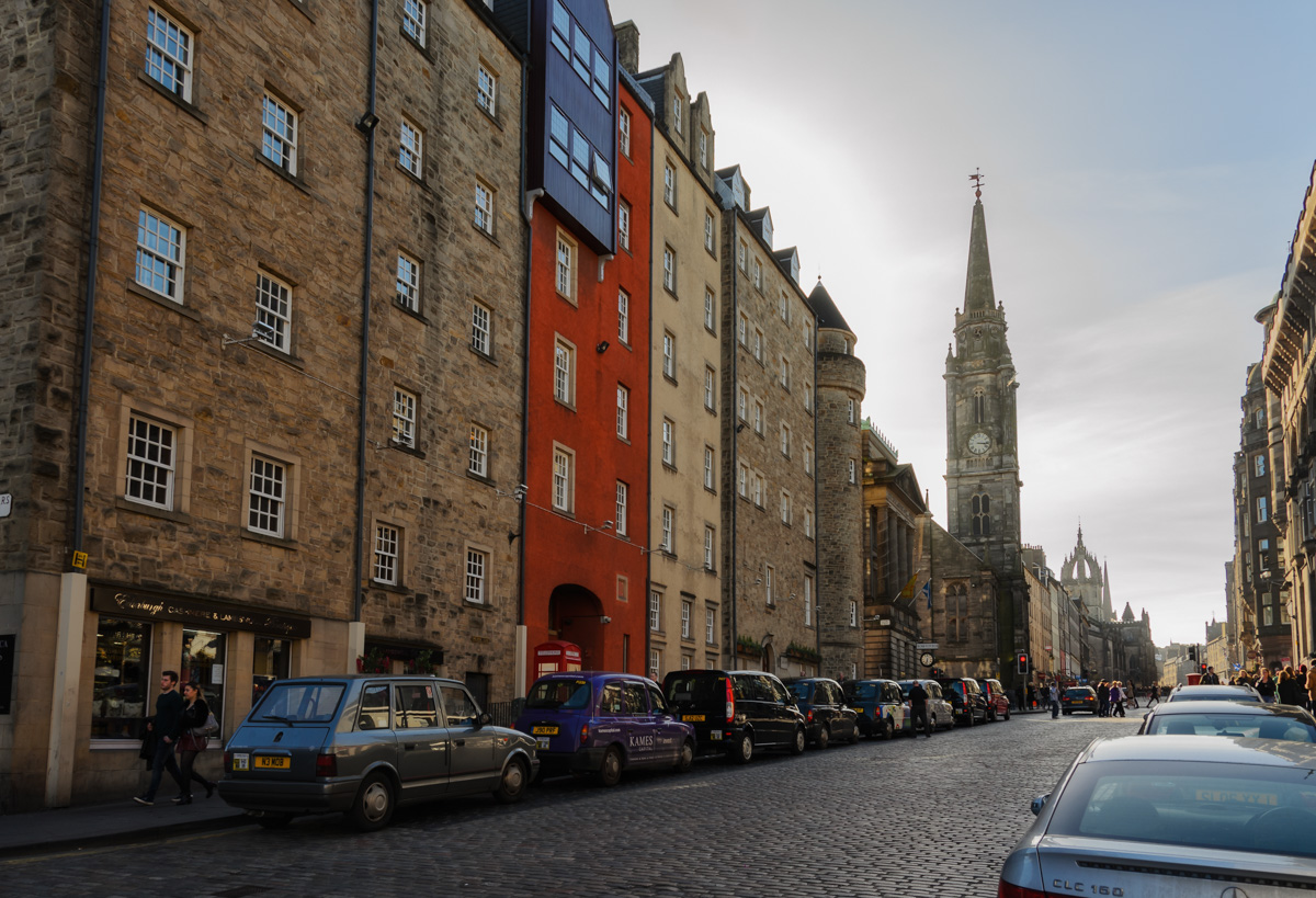 The Royal Mile, Edinburgh, Scotland