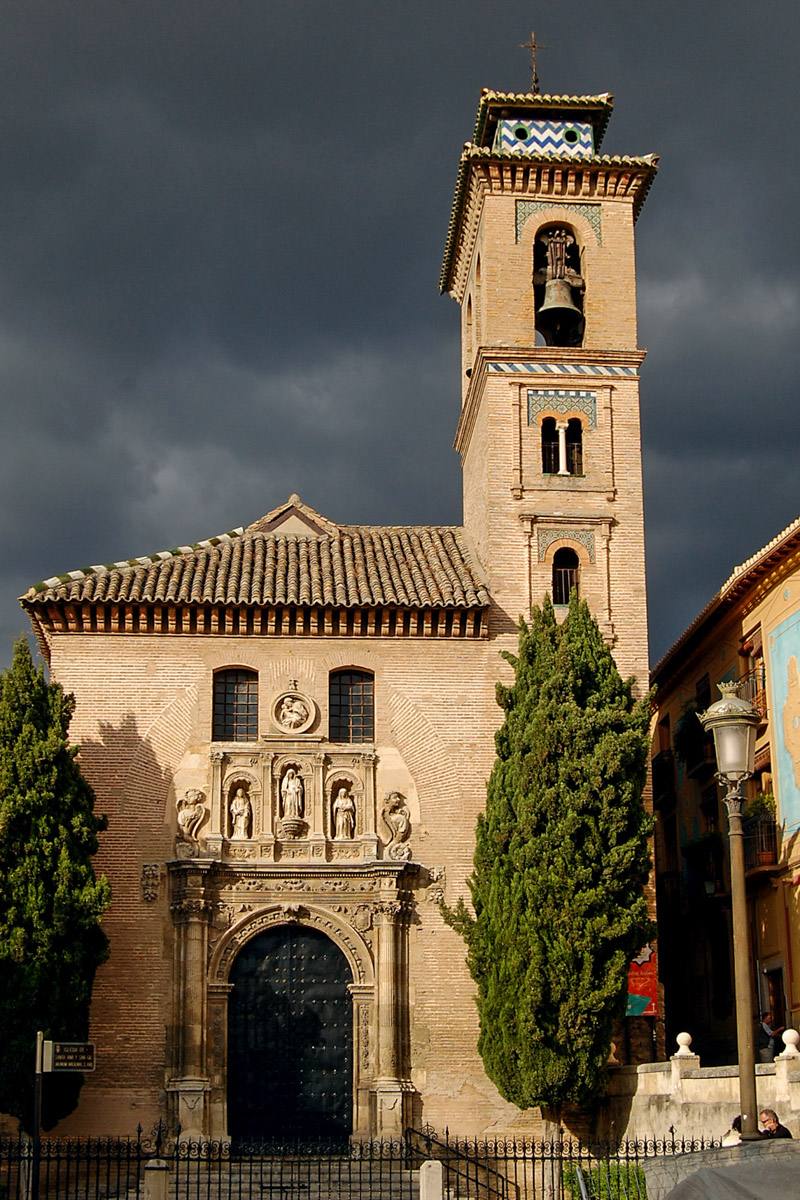Church of San Gil y Santa Ana, Granada