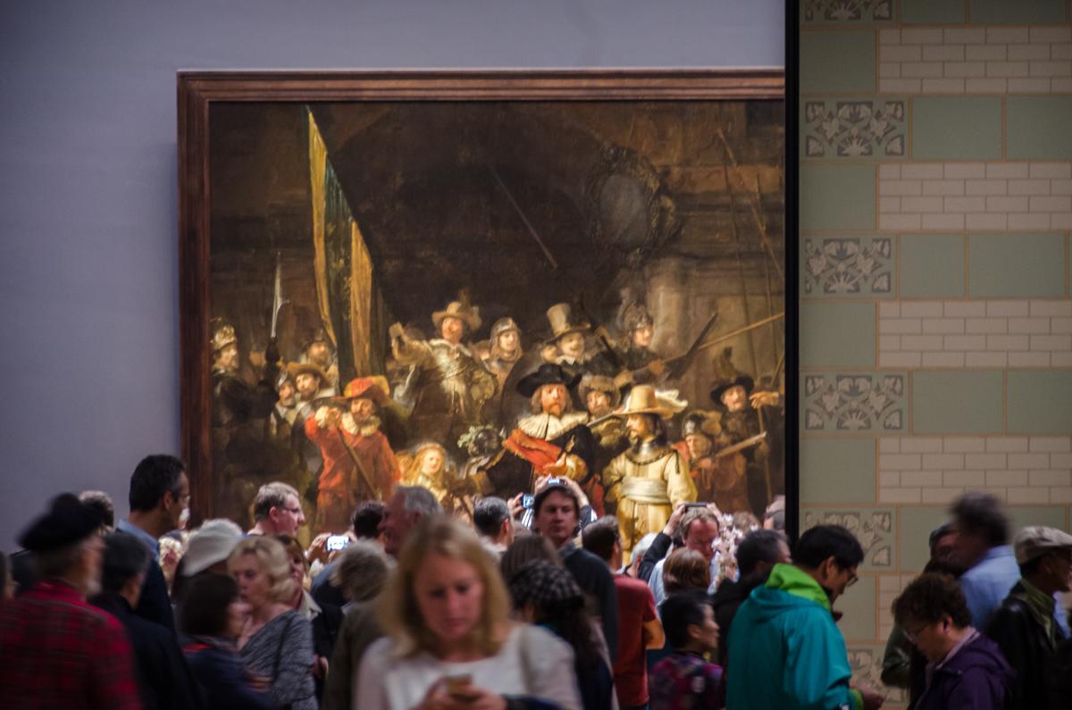 At Rijksmuseum, Amsterdam