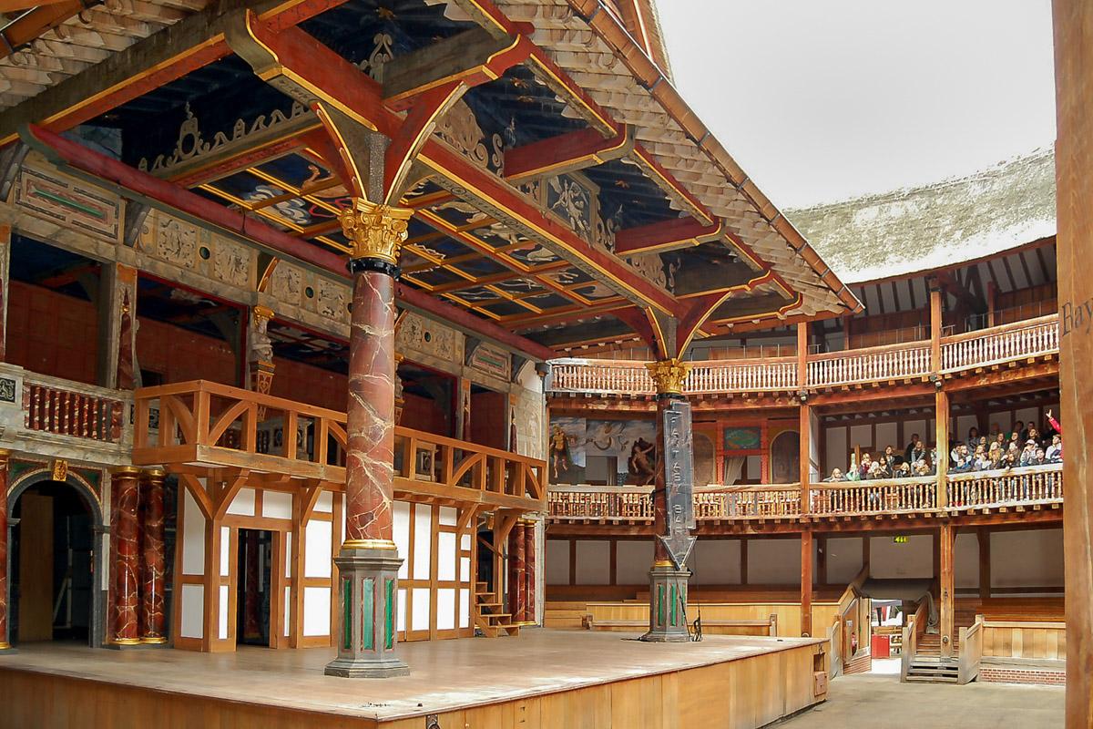 In Shakespeare Globe, London