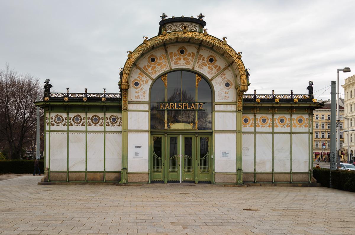 Karlsplatz Stadtbahn Pavilion, Vienna