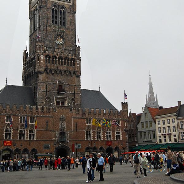 Bells ringing in Brugge
