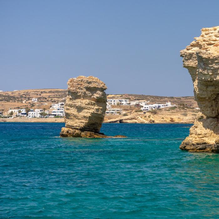 Sailing around Naxos