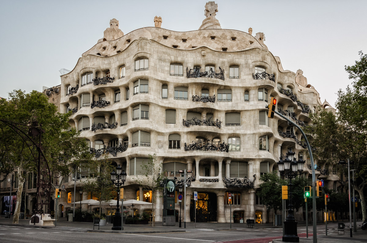 A building on Passeig de Gracia